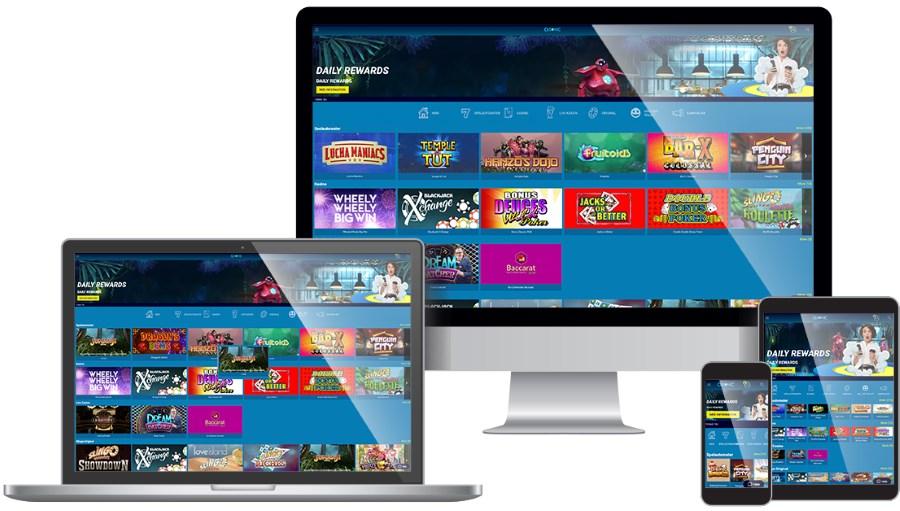 Casino på dator och mobil